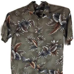 Croft & Barrow Hawaiian Pocket Shirt Mens LT Rayon